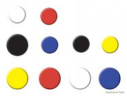 Magnety NOBO, černé 20mm