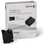 Xerox ColorQube Ink pro 8870/8880 black (6 STICKS), DMO (16 700str.)