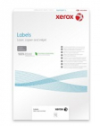 Plastový samolepicí materiál Xerox PNT Label - Matt White A3 (236g/50 listů, A3)