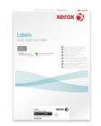Xerox Papír bílé samolepící štítky, kulaté rohy -  Labels 16UP 99x33,9 (g/100 listů, A4)
