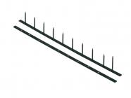 Hřebenové hřbety GBC SUREBIND ONE, 25mm, černé