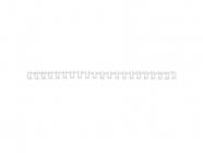 Drátěné hřbety GBC 9/16, A4/100 ks, 6 mm, bílé