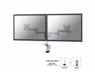 NewStar Flat Screen držák na 2 PC monitory 10-27