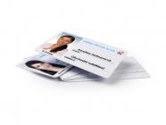 Potištěná registrační karta
