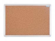 Korková nástěnka AVELI 90x60 cm, hliníkový rám