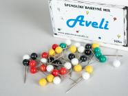 Špendlíky AVELI barevný mix