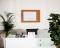 Korková nástěnka AVELI 90x120 cm, dřevěný rám